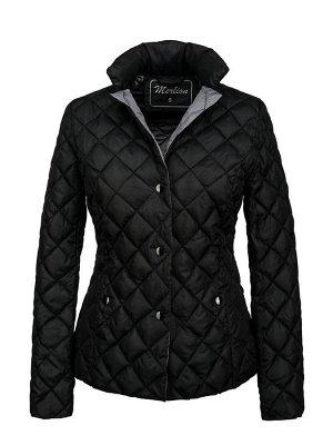 Куртка женская ELIZA (черный/серый)