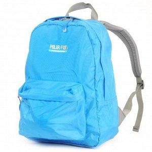 Рюкзак 28 x 39 x 25,  Одно основное отделение. Спереди — накладной карман на молнии. Спинка и лямки рюкзака пропенены.
