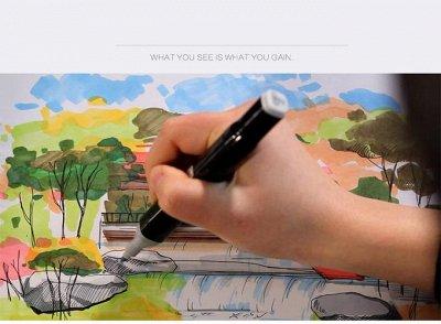 Рисуй-Твори-67. С TМаrk рисуют все! Необыкновенный подарок! — НАБОРЫ TOUCH MARK 80 ЦВЕТОВ — Графика и черчение