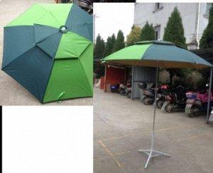 Зонт Диамерт 2м, дополнительно покупать держатель не надо, есть крепление в комплекте.