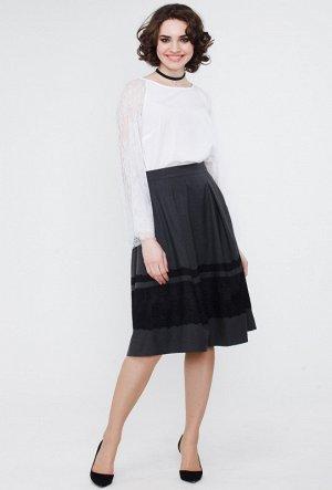 Офисная женственная юбка.