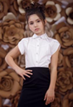 Блуза 3658-1;4;Белый