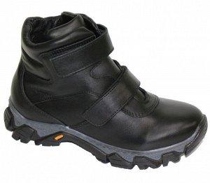 Зимние ботинки, нат. кожа р.36