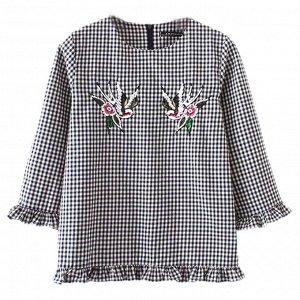 ХБ блуза В стиле Зара