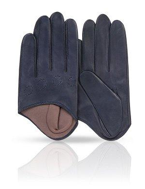 Шикарные перчатки из кожи ягненка
