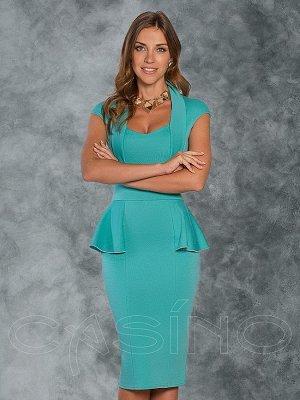 Платье бирюза 42-44 как на фото