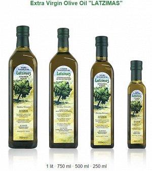"""Масло оливковое """"Латзимас"""" Extra Virgin 750 мл с/б"""
