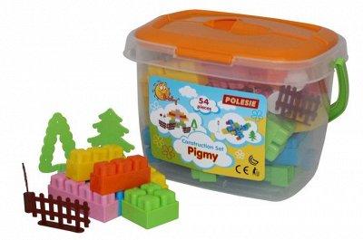 Полесье. Любимые игрушки из пластика. Успеем до повышения — Конструктор Малютка — Конструкторы и пазлы