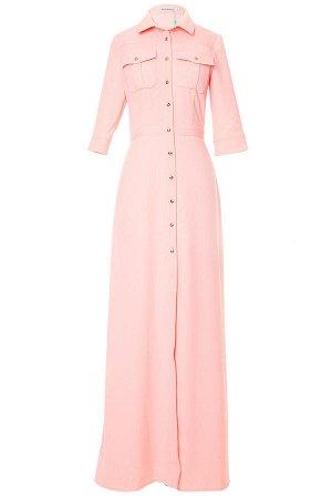 Платье/персиковый