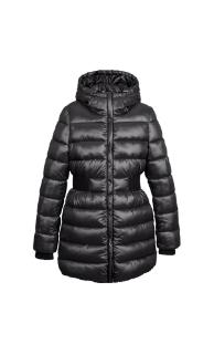 Стеганая куртка удлинённая куртка