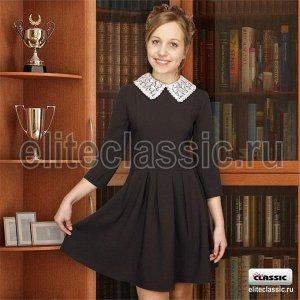 Платье школьное Коричневый
