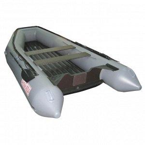 Лодка Алтай 400А (серый, надувное дно)