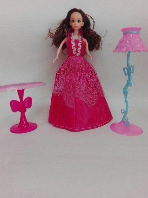 Платье темно-розовое