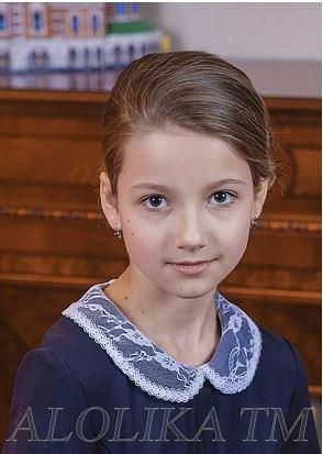 """Воротник отделочный для школьного платья """"Выпускница"""""""
