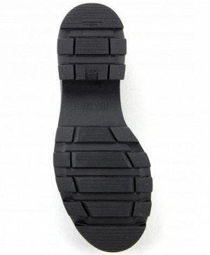 Ботинки кожа черный