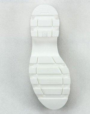 Ботинки кожа белый демисезон