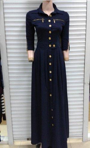 Платье макси (Турция), размер 42