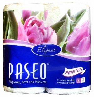 Рулоные полотенца PASEO ELEGANT  2-x сл