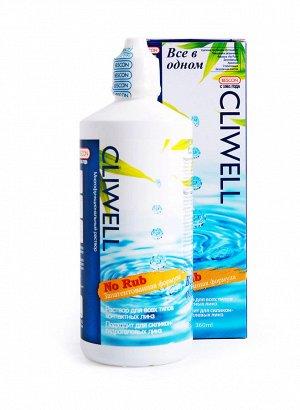 Р-р для контактных линз Cliwell 360 + контейнер
