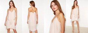 Платье светло-розовое. Размер S