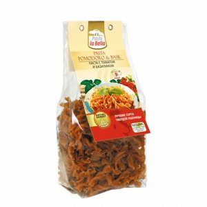 Pasta la Bella Макароны с Томатом и Базиликом 400 г