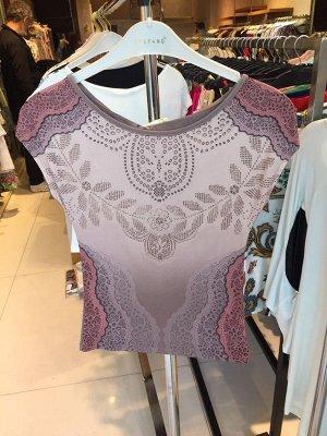 трикотажная блузка на полный 54 размер и рост 170 см