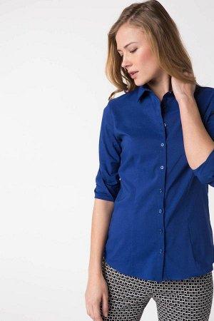 рубашка %69 Pamuk %28 Polyester %3 Elastan