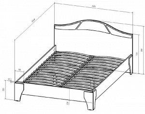 Кровать-1400
