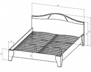 Кровать-1600