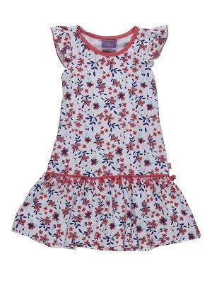 Трикотажное хлопковое платье Sweet Berry 98 р-р (на рост 98-104 см)