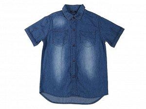 Рубашка джинсовая для мальчиков