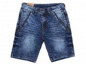 Бриджи джинсовые для мальчиков р. 146
