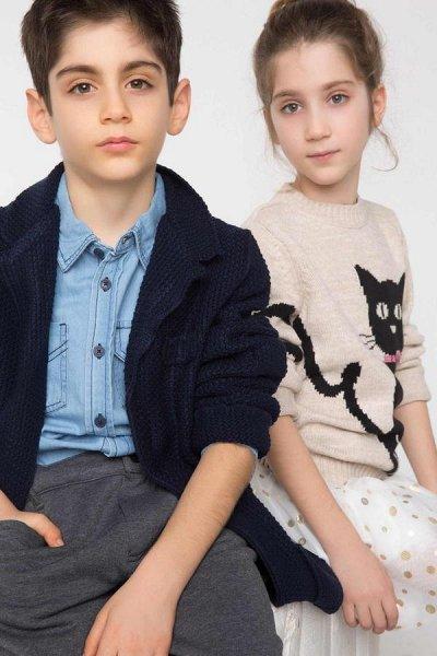 DEFACTO - 💃🏻толстовки, свитеры,джемпер, рубашки, футболки🕺🏻 — Пуловеры и толстовки для мальчиков до 2-14 лет — Для юношей