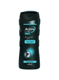 """Белита ACTIV LIFE Гель для мытья тела и волос """"Морской бриз"""" 250 мл"""