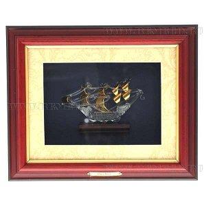 """Панно """"Корабль"""", L33 W8 H29 см"""