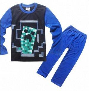Пижама синяя