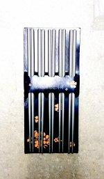 Набор палочек для суши 5шт. металл