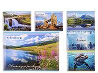 Альбом для рисования 40л,  внутренний блок 100 г/м2, обложка картон 235 г/м2