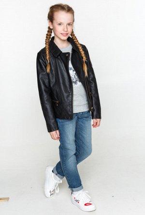 Куртка детская для девочек Glen черный