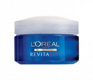 LOREAL   REVITALIFT  Крем для лица ночной против морщин и мешков под глазами  50 мл.