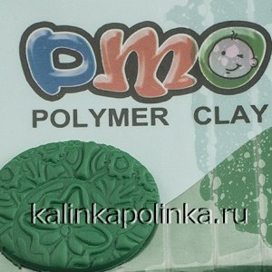 Полимерная глина DMO, упаковка 50гр, цвет зеленый 017, ОПТ Полимерная глина DMO, упаковка 50гр, цвет зеленый 017