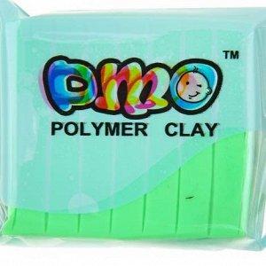 Полимерная глина 50гр DMO Люминесцентный(светится в темноте) светло-зеленый SH-104