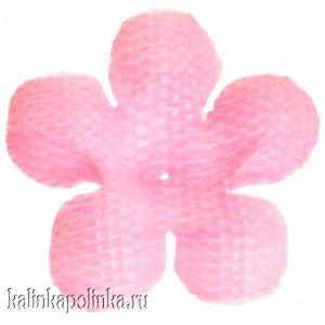 Детали для изготовления цветов, р-р ок. 17мм, цвет розовый