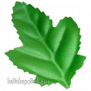 Детали для изготовления цветов Листочек, р-р ок. 55мм, цвет зеленый