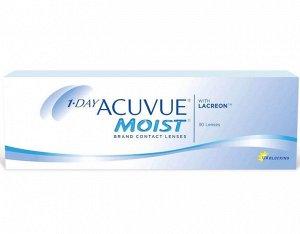 Однодневные контактные линзы 1-DAY ACUVUE MOIST (30 линз)