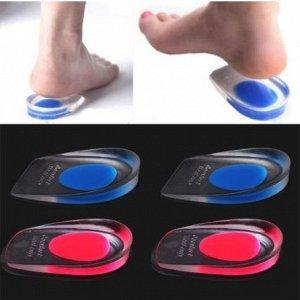 Амортизирующие подпяточники для обуви силиконовые