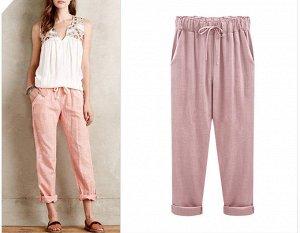 Любимые всеми хлопковые брюки на крупных женщин размер 58-60, 6XL
