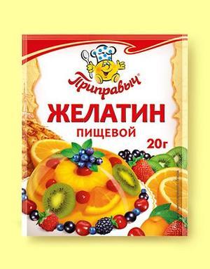Желатин пищевой, 20 г