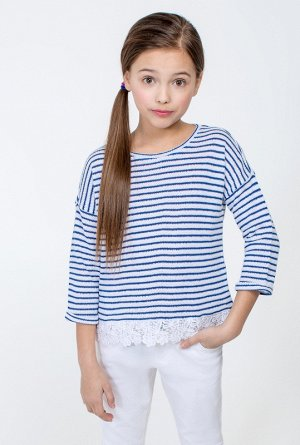 Джемпер детский для девочек Cartagena синий
