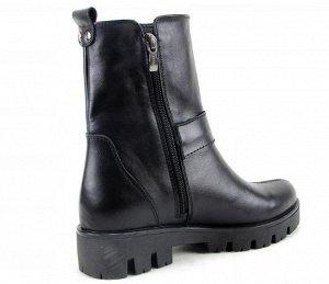 Ботинки кожа черный демисезон